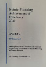 Estate Planning Achievement of Excellence